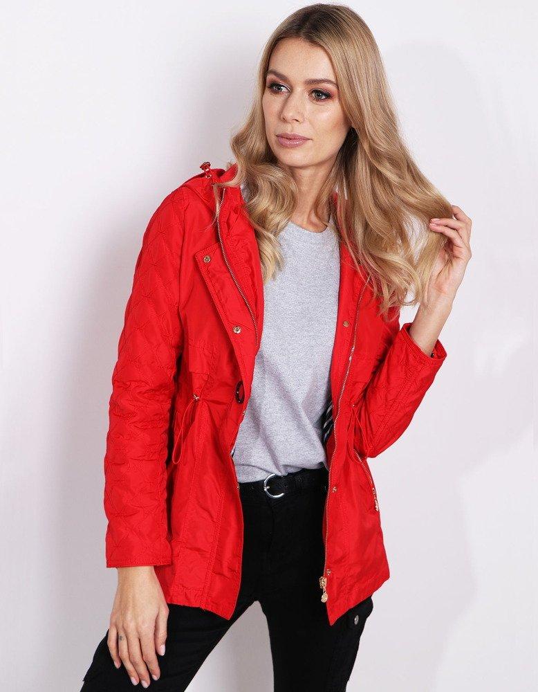 Trendy červená dámska párka (ty0564)