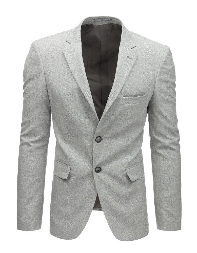 Svetlo-šedé elegantné pánske sako. (mx0451)