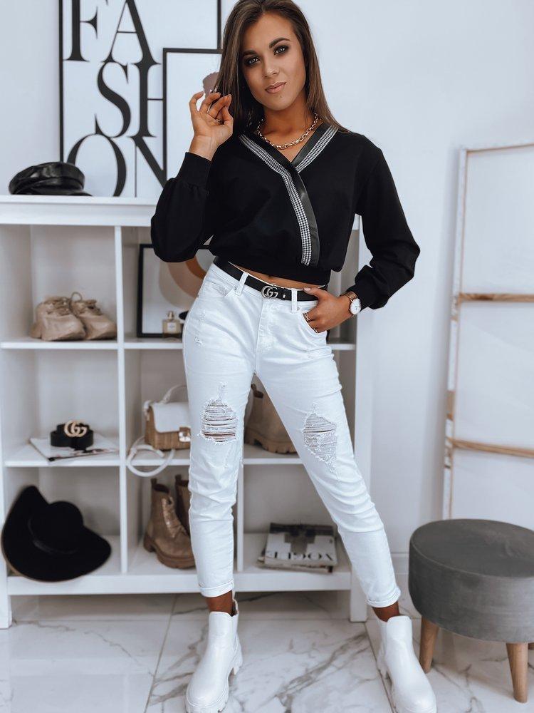 Bluza damska LARISSA czarna Dstreet BY0708