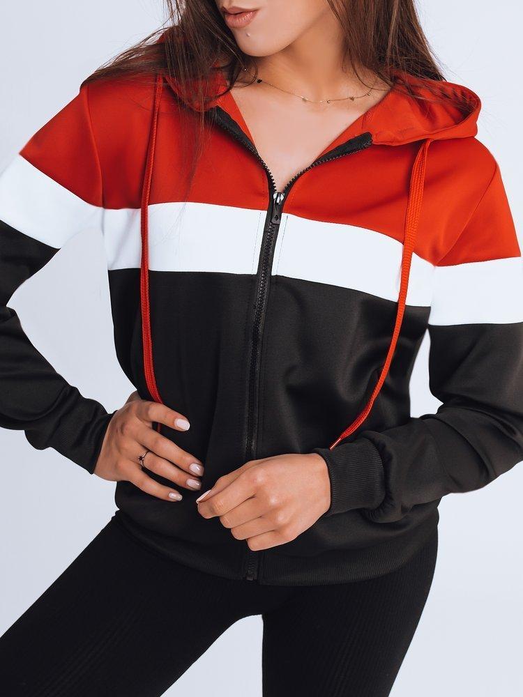 Bluza damska dresowa DERLA czerwona Dstreet BY0938