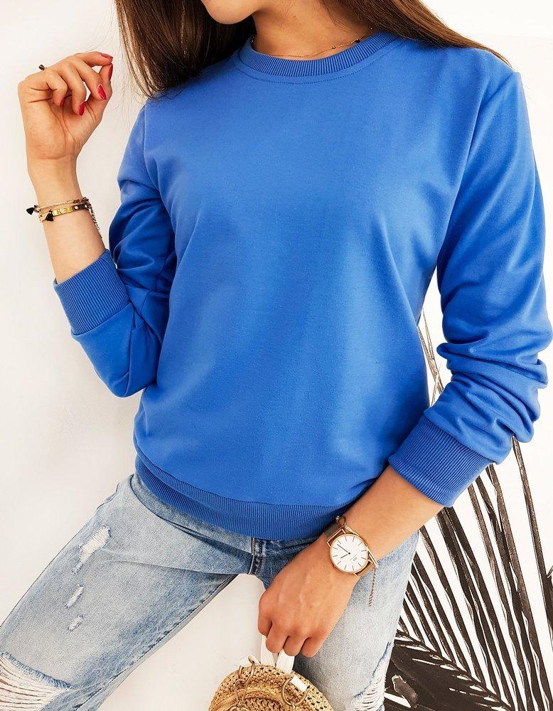 Bluza damska CARDIO niebieska BY0438