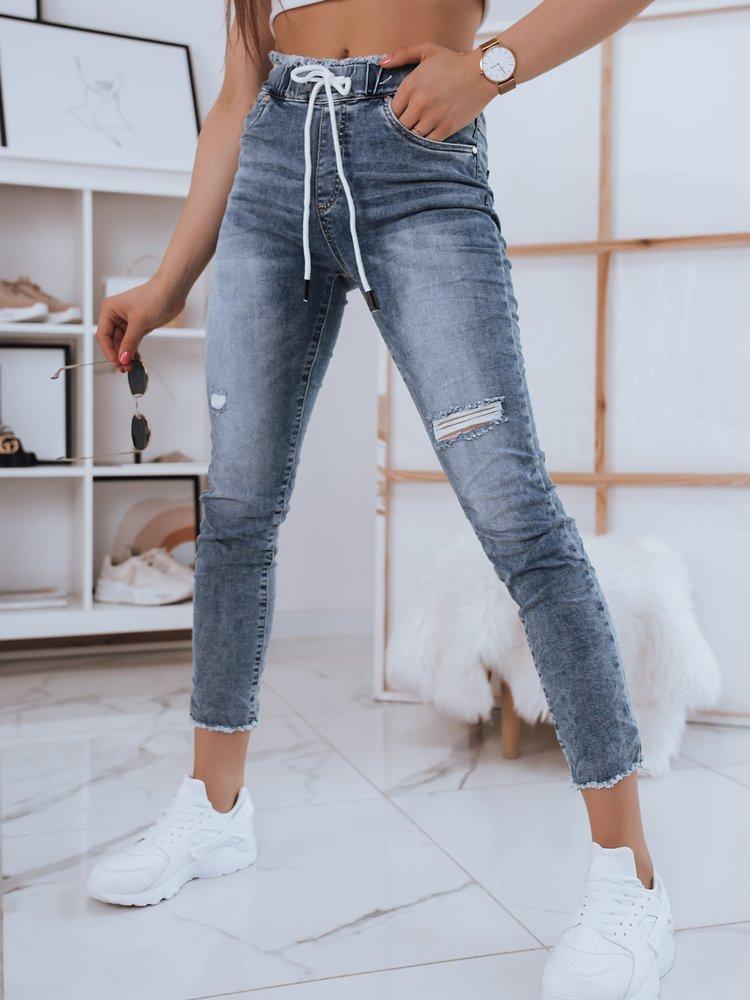 Spodnie damskie jeansowe TANA II niebieskie Dstreet UY0801