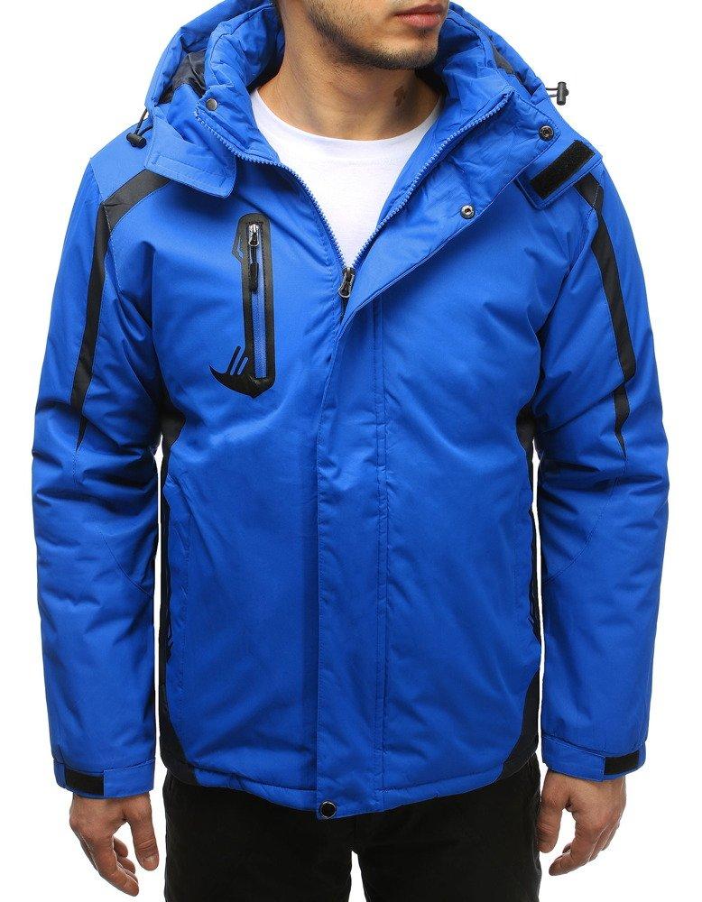 Lyžiarska modrá pánska bunda (tx2582)