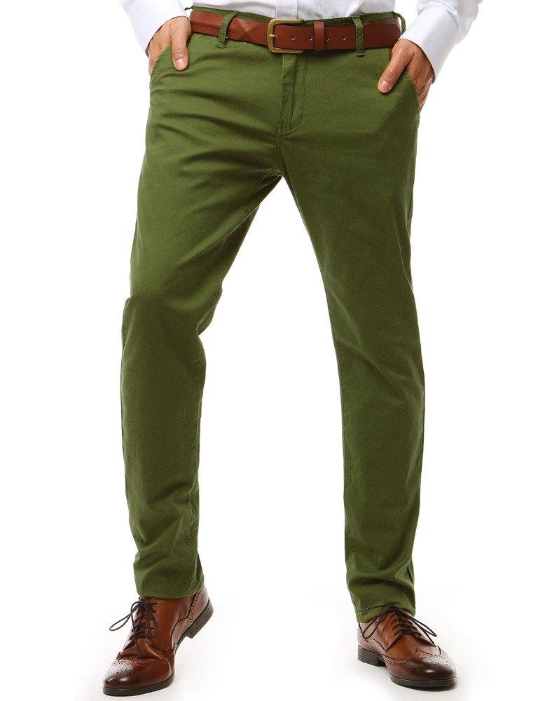 Pánske nohavice zelené