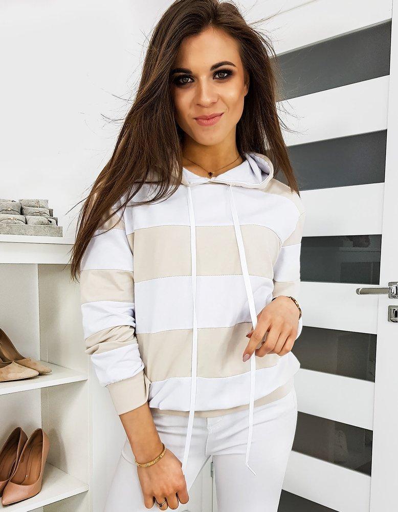 Bluza damska MORGANO beżowa BY0301