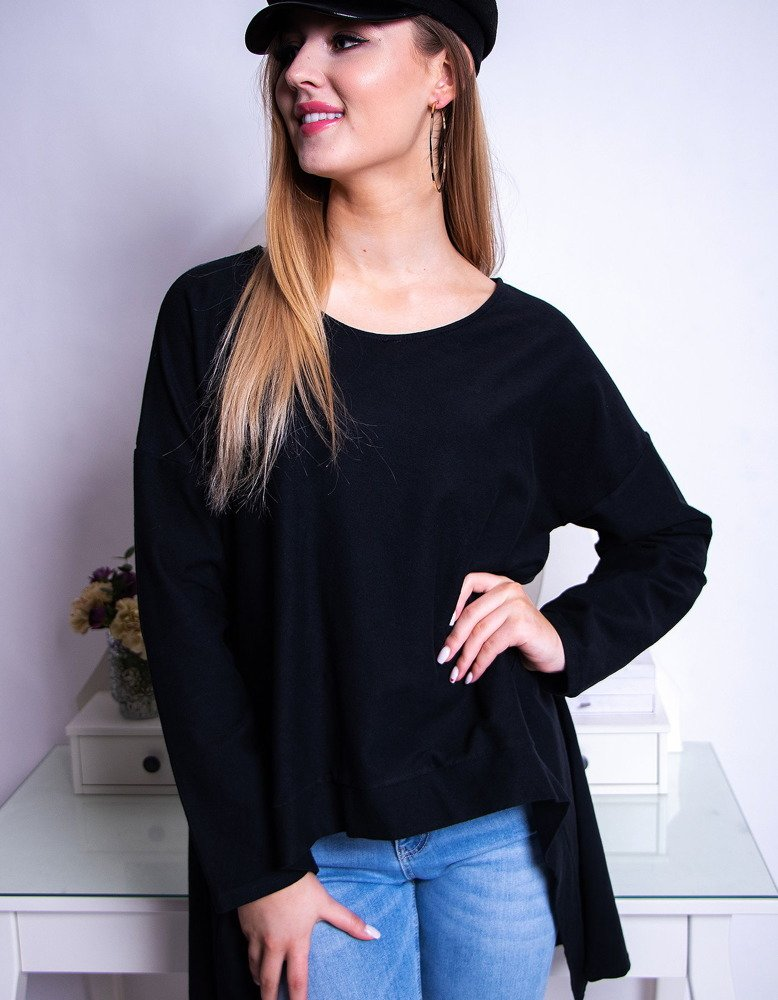 Bluzka damska LOOK czarna RY0612