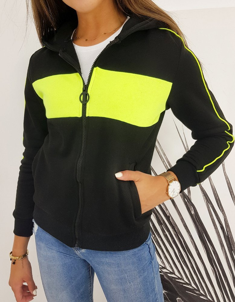 Bluza damska STELLOS czarna BY0418