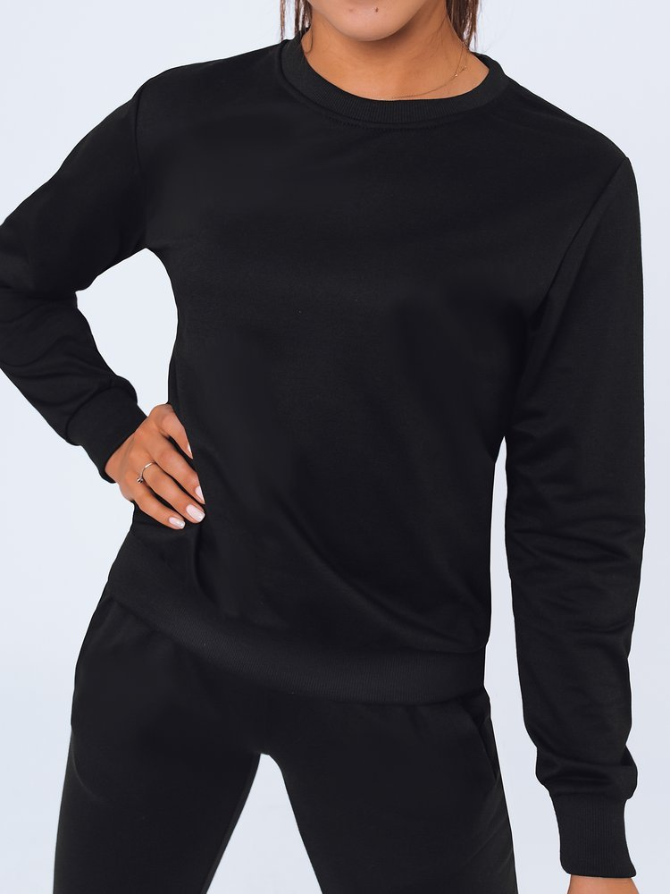Bluza damska dresowa LARA czarna Dstreet BY0963