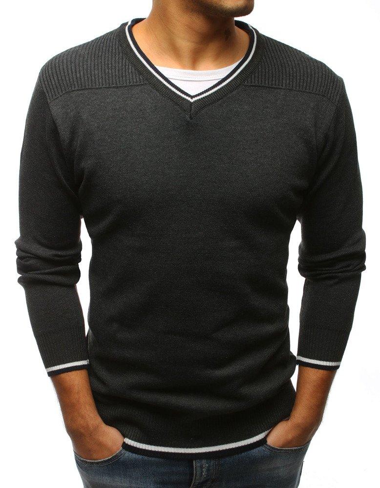 Pánsky sveter grafitový