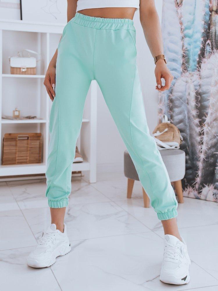 Spodnie damskie dresowe STIVEL zielone Dstreet UY0915