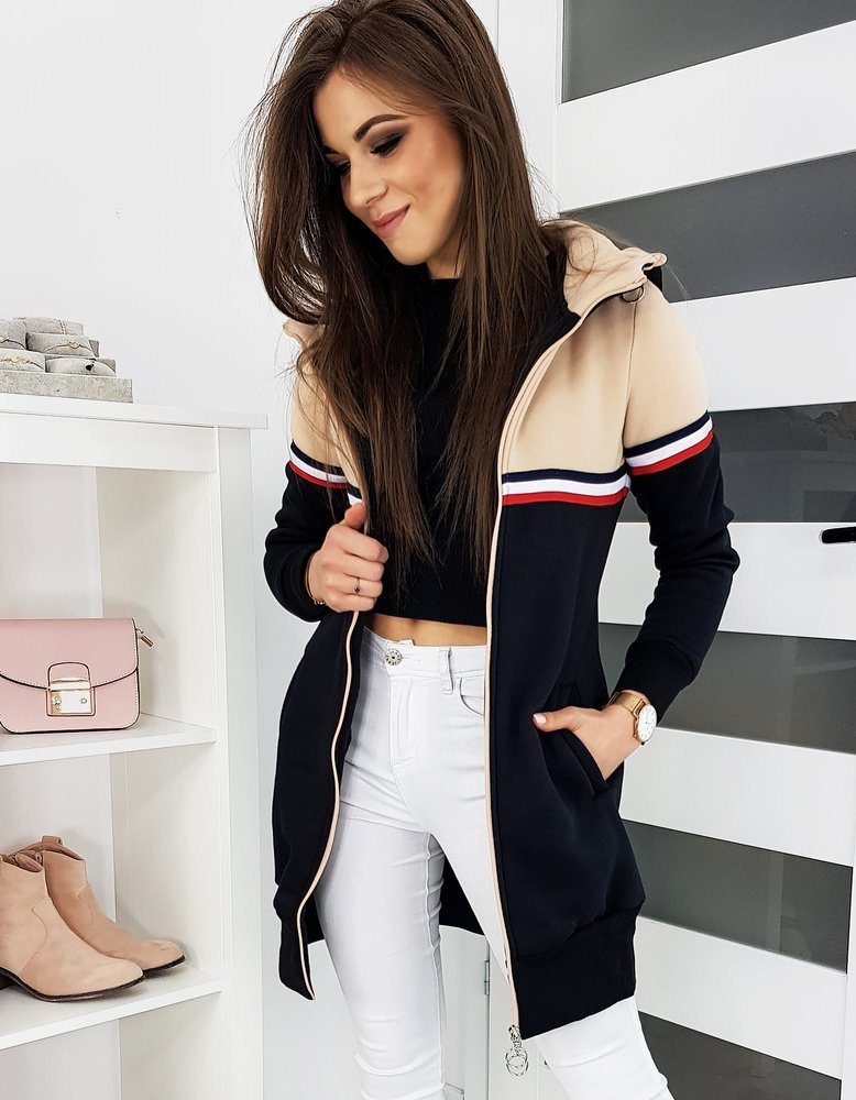 Bluza damska BROOK beżowa BY0305