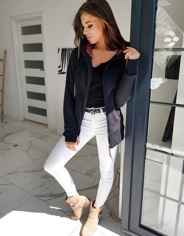 Bluza damska GIAGOS czarna BY0607