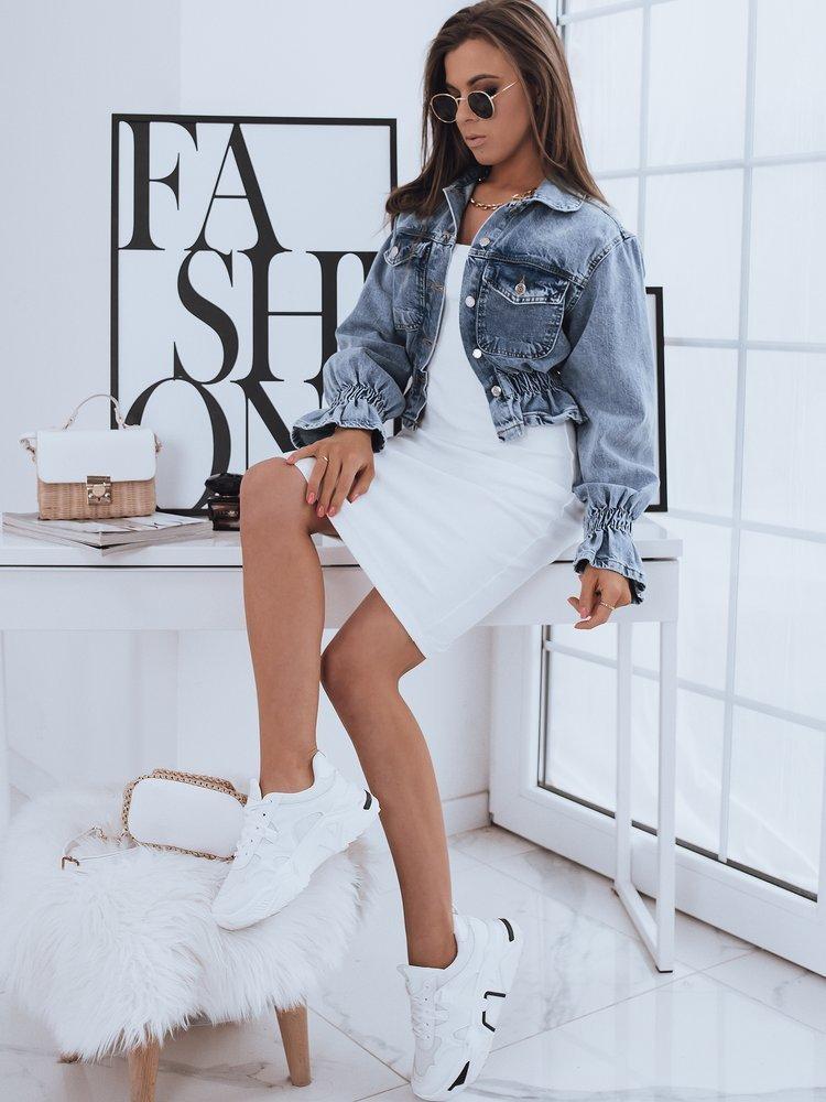 Kurtka damska jeansowa SAMANTA niebieska Dstreet TY1900