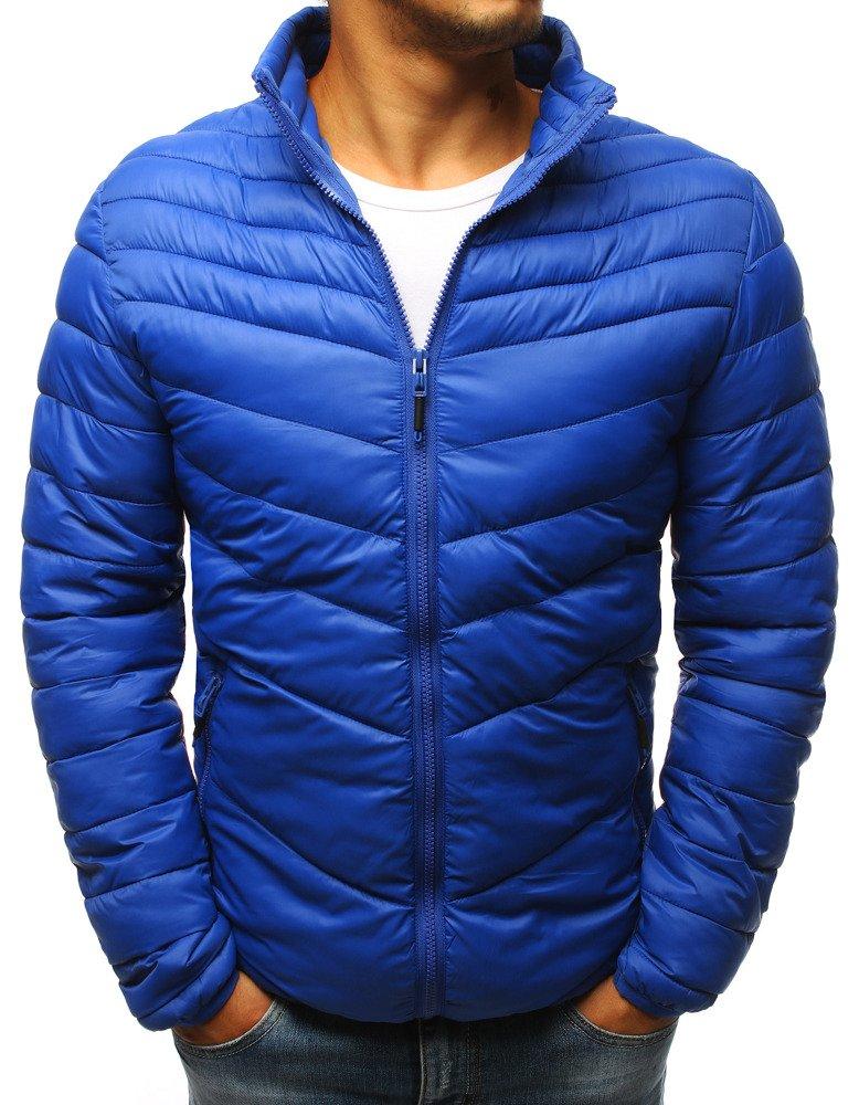 Pánska bunda modrá