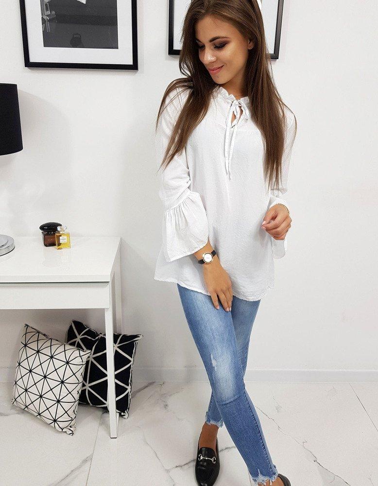 Bluzka damska EVITA biała RY0657