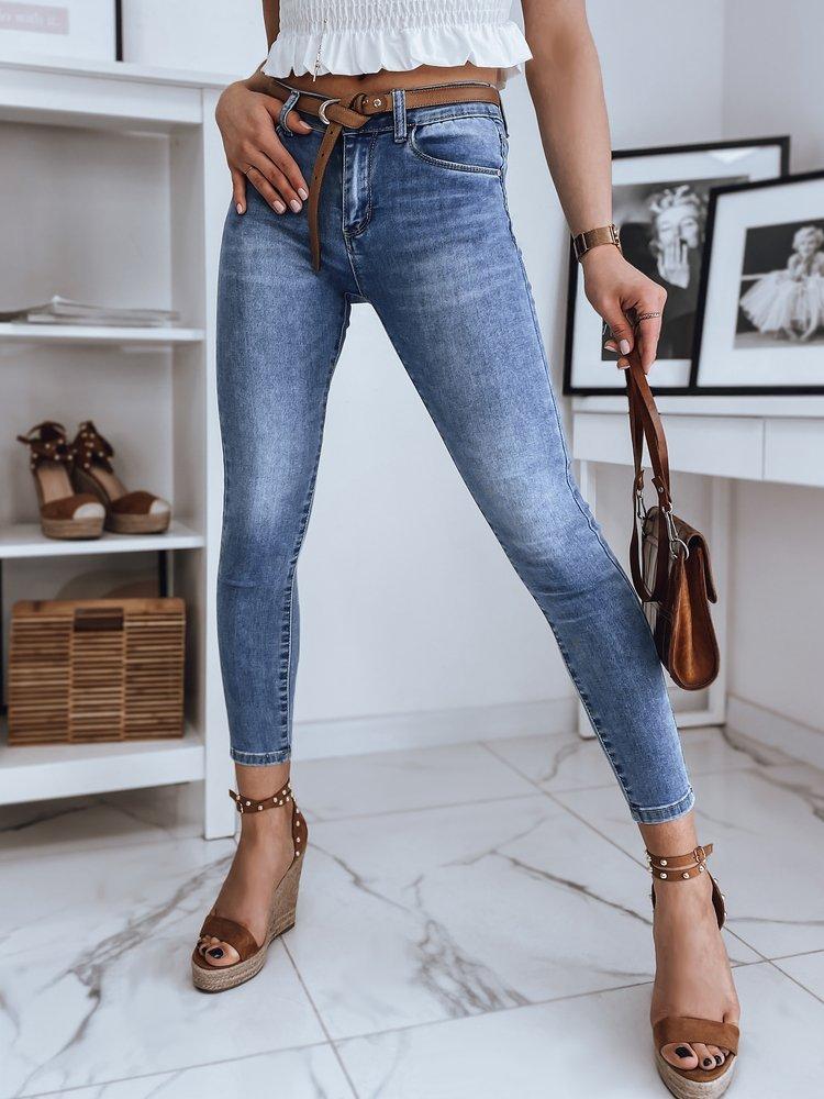 Spodnie damskie jeansowe SANDI niebieskie Dstreet UY0890