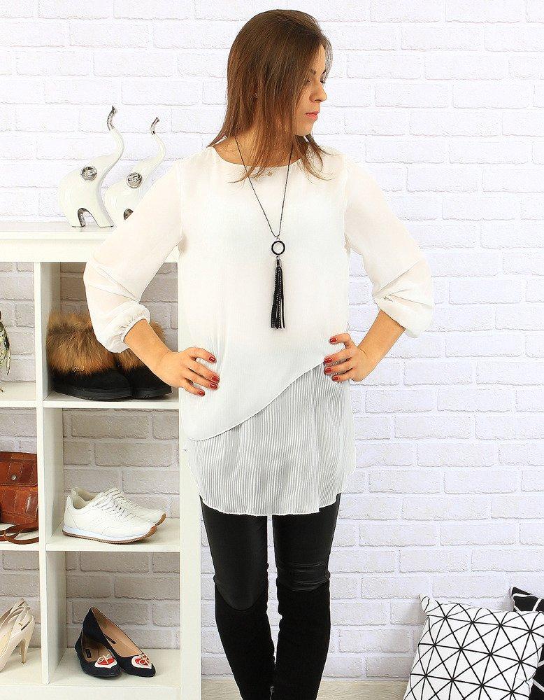 Bluzka Nice biała (ry0228)