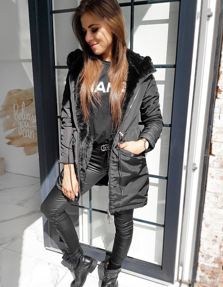 Płaszczyk damski MILO czarny TY1349