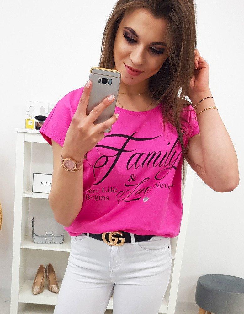 Dámské tričko ružové