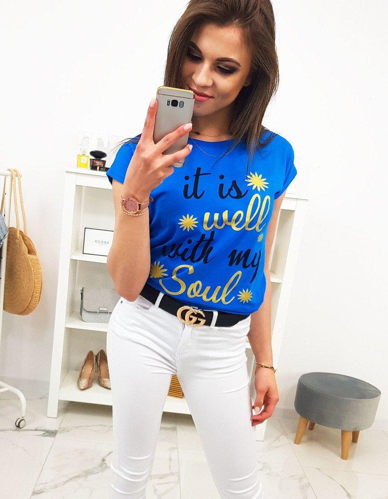 Dámske tričko modré