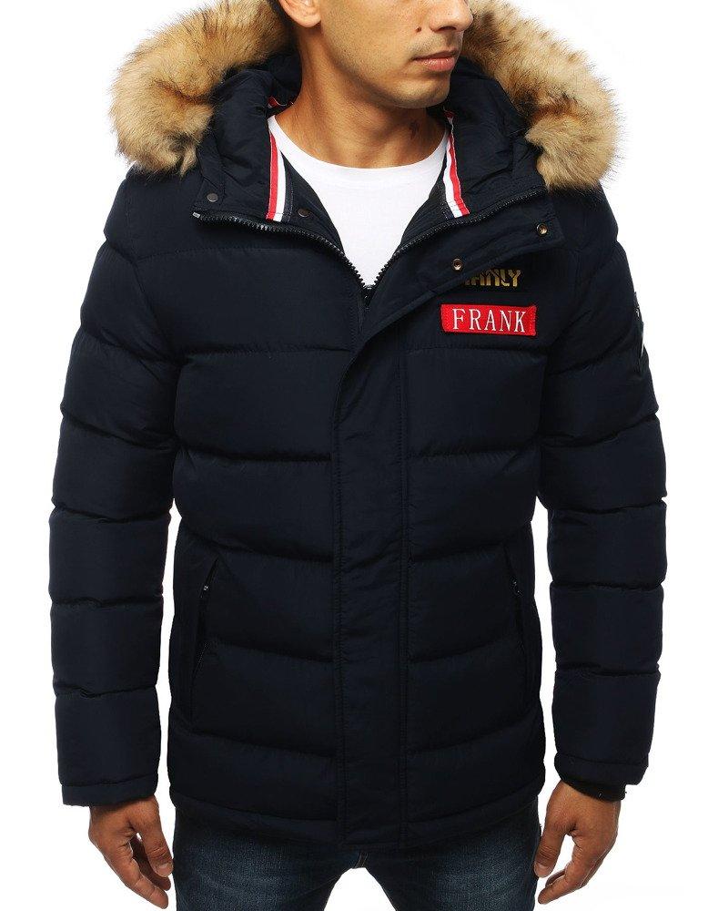 Zimná granátová pánska bunda (tx2948)