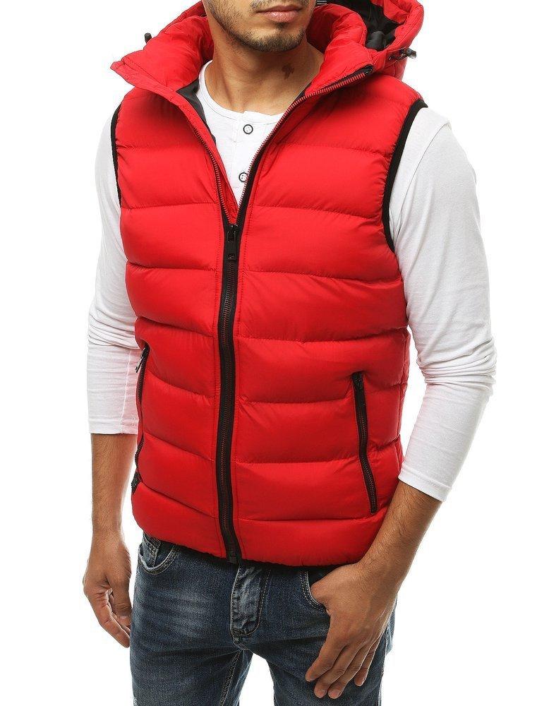 Pánska červená vesta TX3376