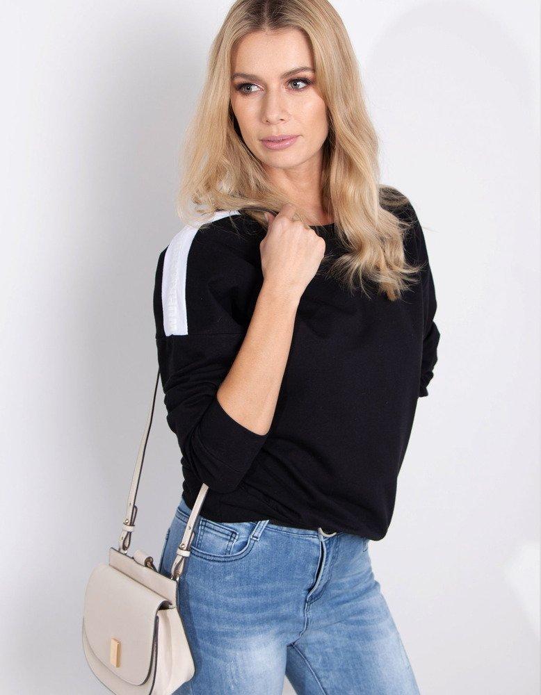 Bluza damska NEON czarna BY0182