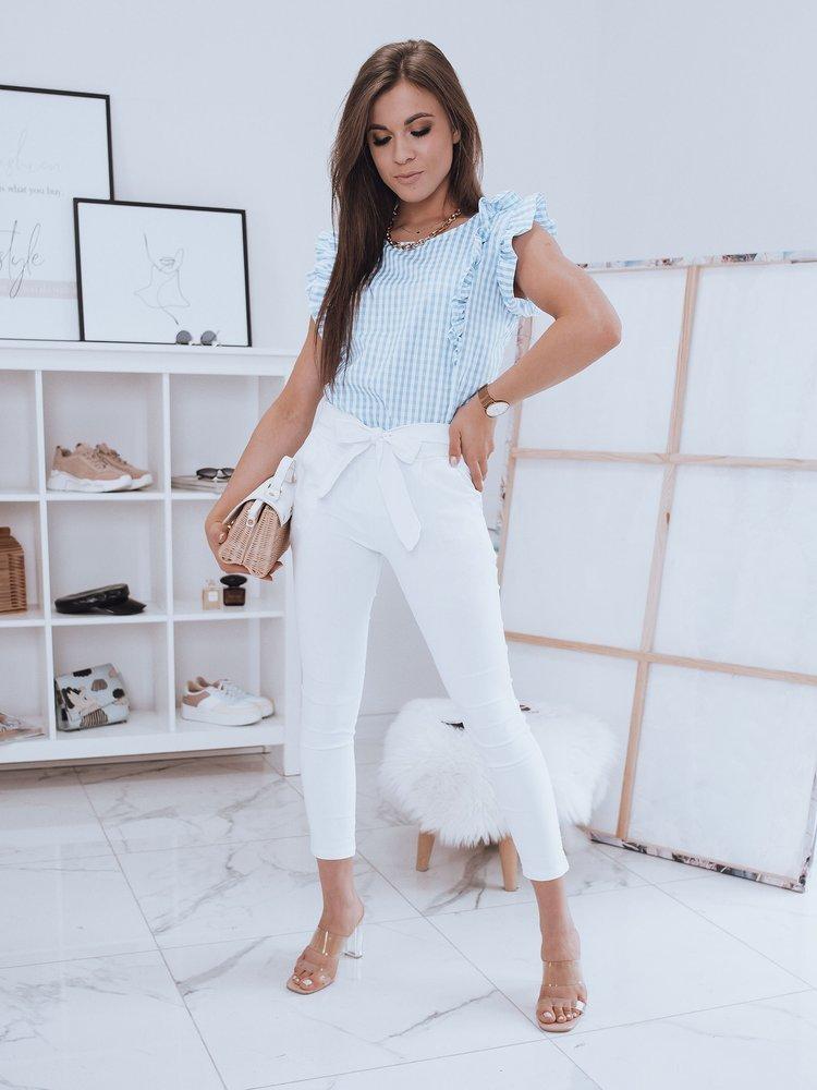 Spodnie damskie LOVELY BASIC białe UY0412