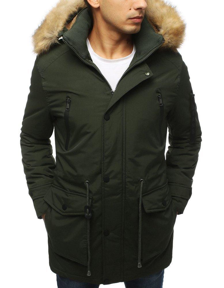 Pánska pohodlná zimná bunda TX3063