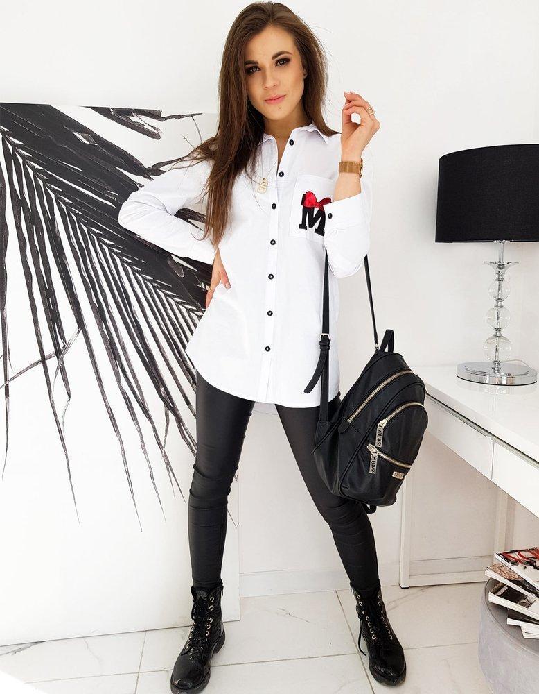 Koszula damska MERRY MICKEY biała DY0198