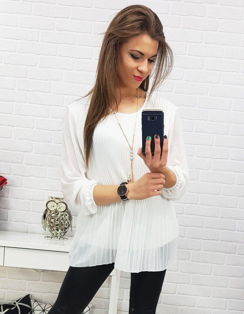 Bluzka damska VIANA biała RY0523