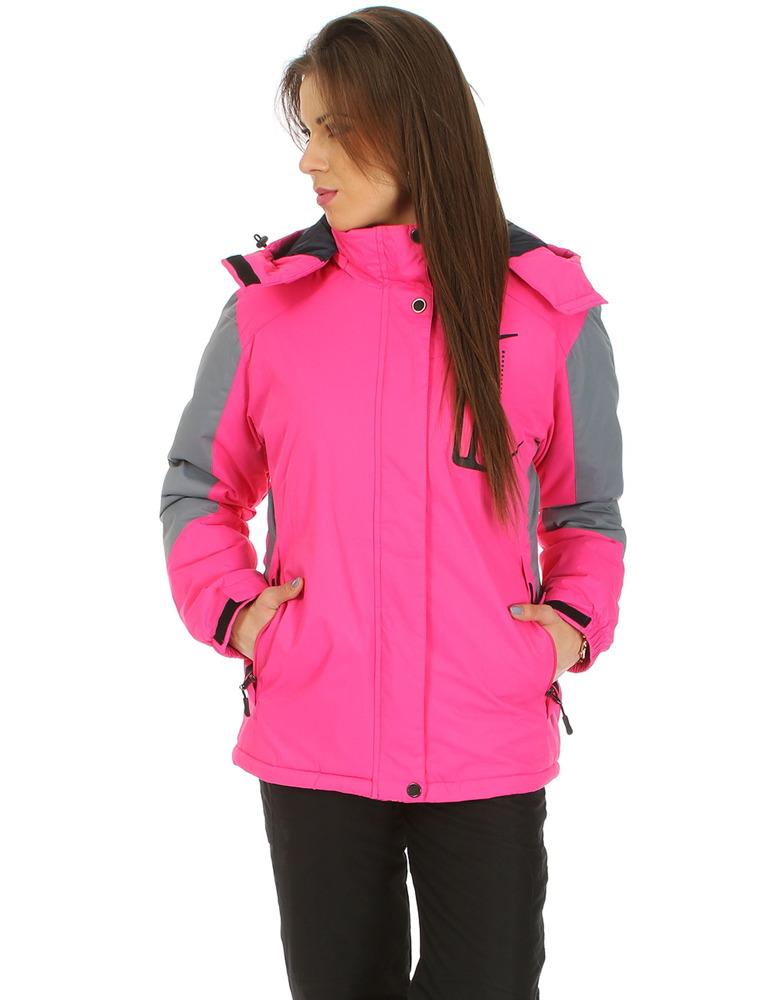 Ružová dámska lyžiarska bunda (ty0536)