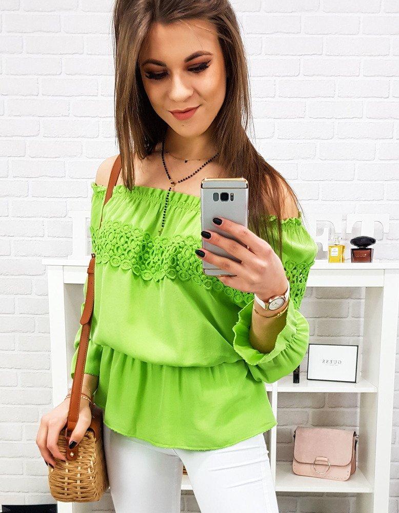 Bluzka damska PENNY zielona (ry0682)