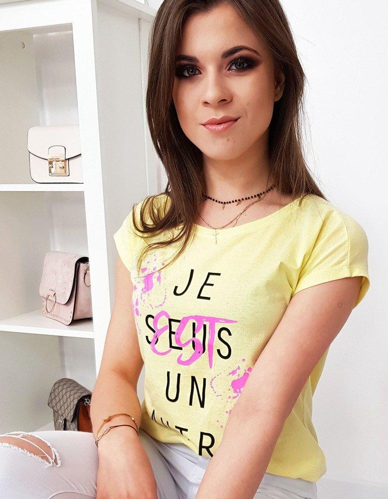 Dámské tričko s citronové