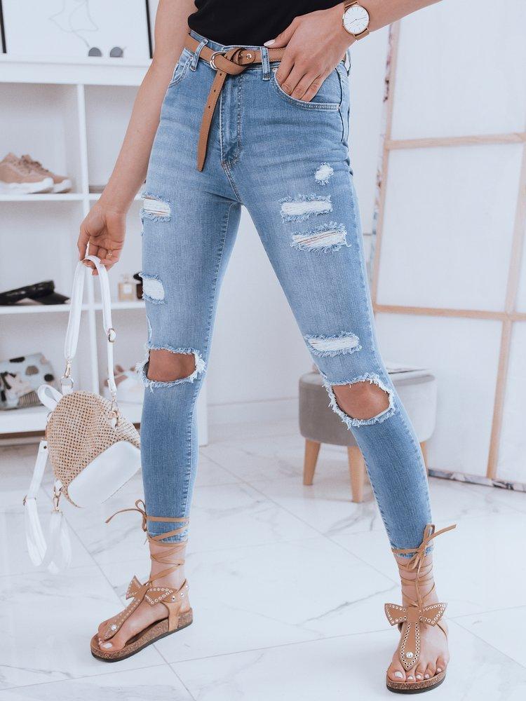 Spodnie damskie jeansowe TOLLY niebieskie Dstreet UY0892