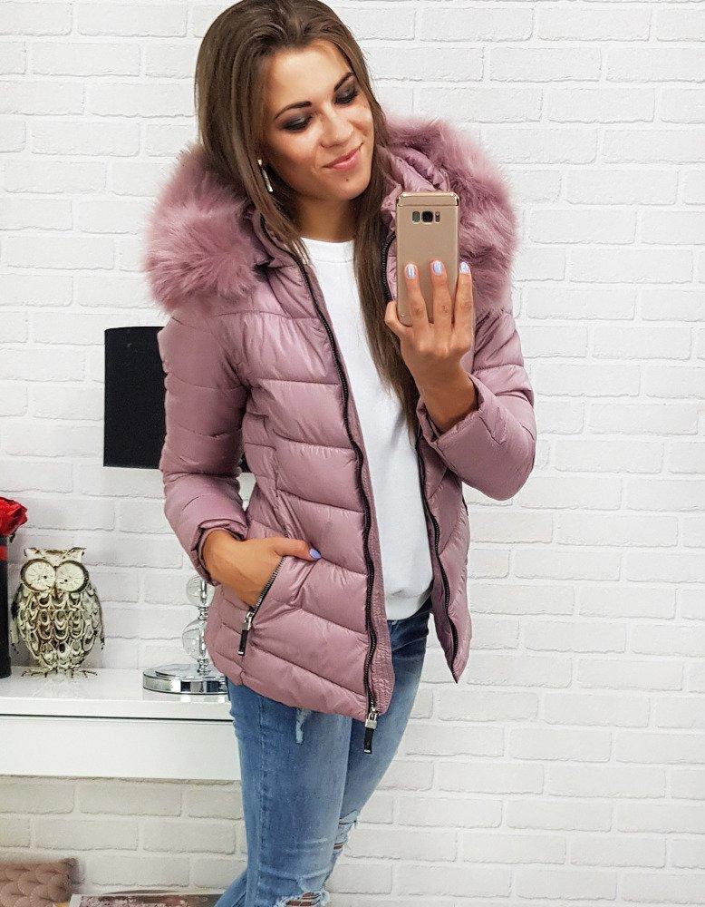 Zimná dámska bunda s kapucňou (ty0298)