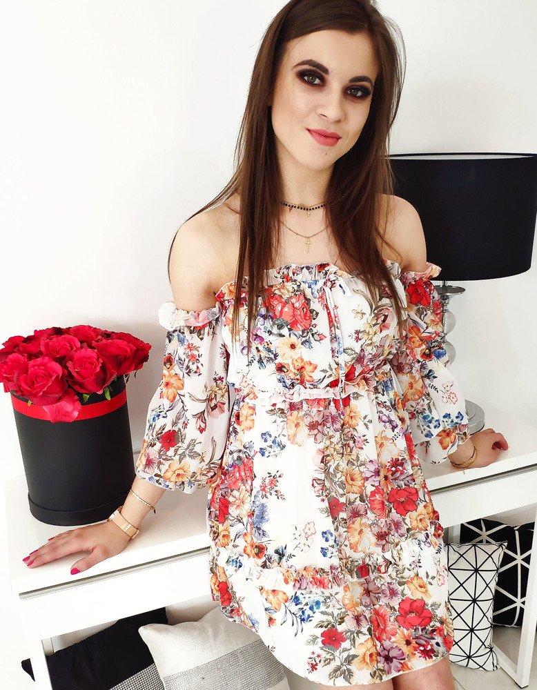 Krásne dámske šaty na leto AMORE (ey0886)