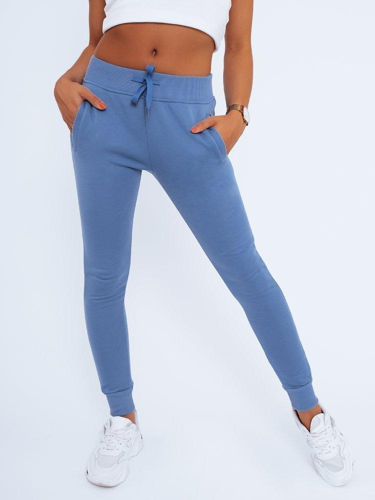 Spodnie damskie dresowe FITS niebieskie UY0207