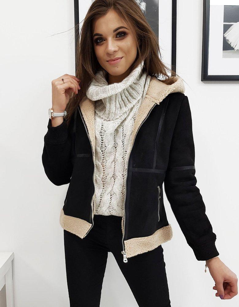 Dámska čierna zimná bunda MELLO I (ty1026)