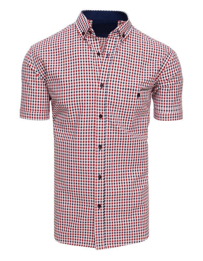 Pánska košeľa s krátkym rukávom KX0926