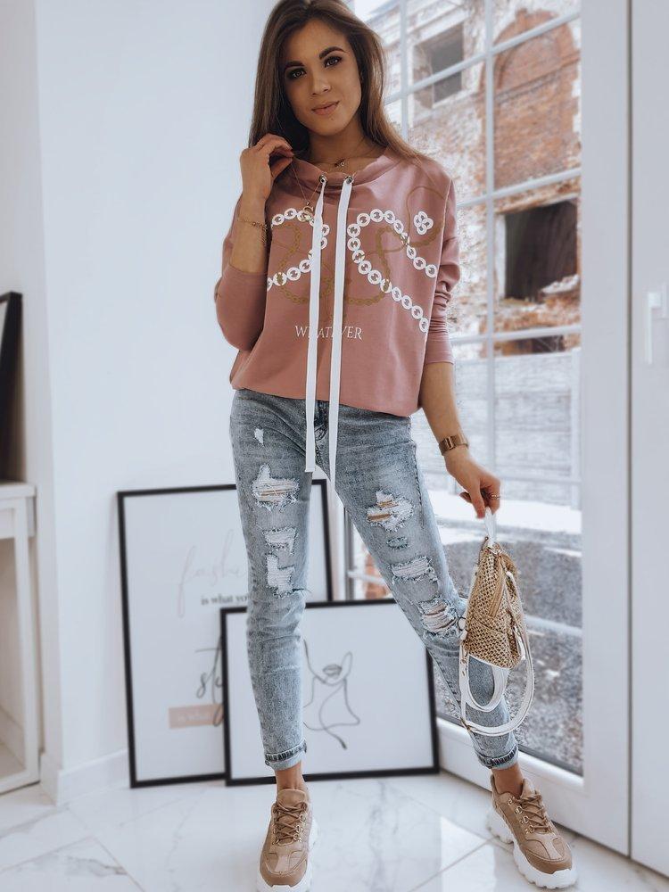 Bluza damska CIRLA różowa Dstreet RY1578