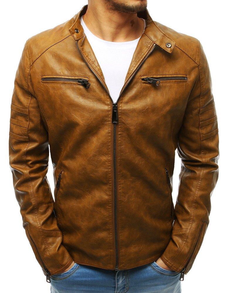 Pánska kožená bunda (tx2648)