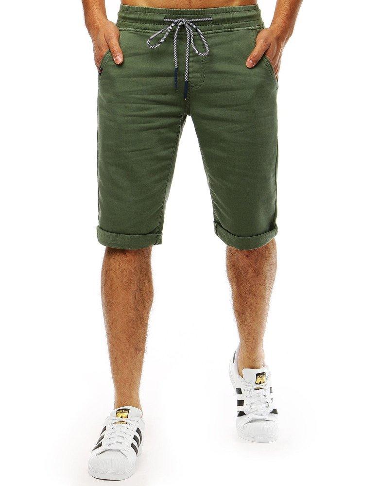 Pánske šortky zelené