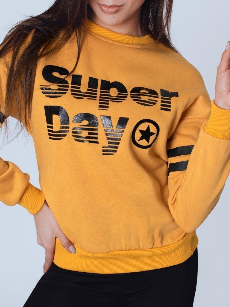 Bluza damska HONE żółta BY0812
