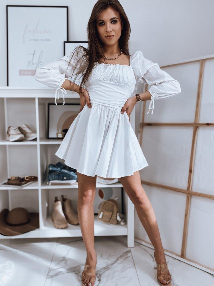 Sukienka hiszpanka ATHENS biała EY1492