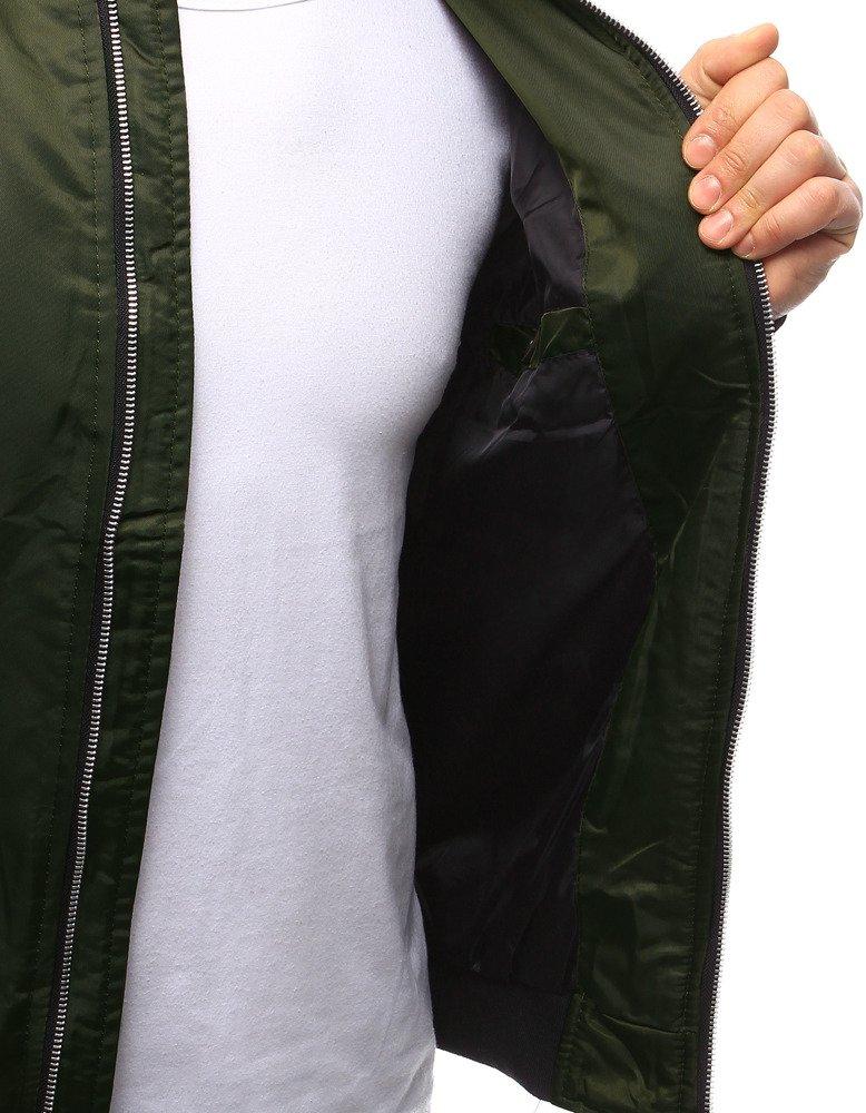 1714e7ad83dc Pánska bunda bomber jacket zelená. 14533  14533  14533  14533 ...