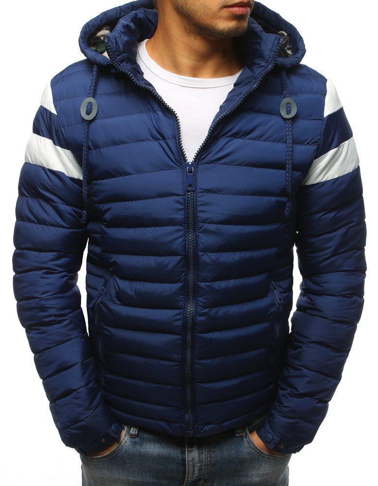 Pánska granátová bunda na zimu (tx2401)
