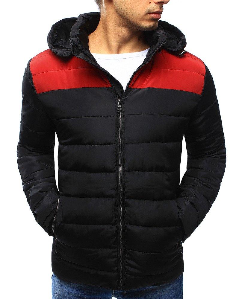 Pánska prešívaná bunda na zimu (tx2032)