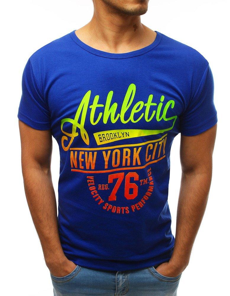 Krátke tričko svetlo modré