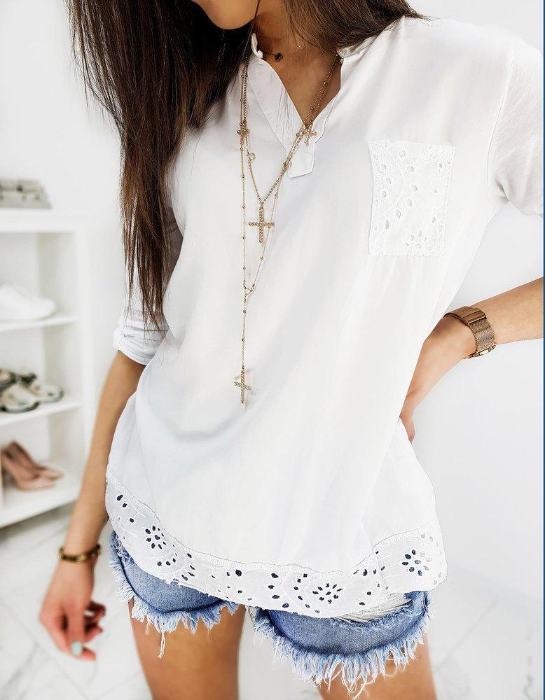 Bluzka damska STIFONIA biała RY1248
